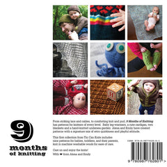 9 Months of Knitting: Exquisite Knits for Baby and Family Book  - 9