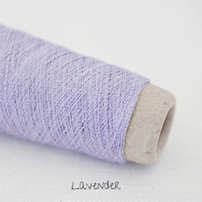 Habu Textiles A-20 Silk Stainless Lavender 16 - 9