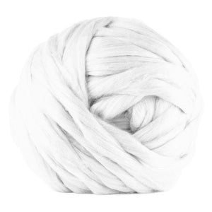 Paradise Fibers Undyed Acrylic Jumbo Yarn - 7lb Special for Arm Knitted Blankets (VEGAN)-Fiber-Paradise Fibers