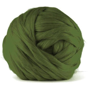 Paradise Fibers Acrylic Jumbo Yarn - Olive - 7lb Special for Arm Knitted Blankets (VEGAN)-Fiber-Paradise Fibers