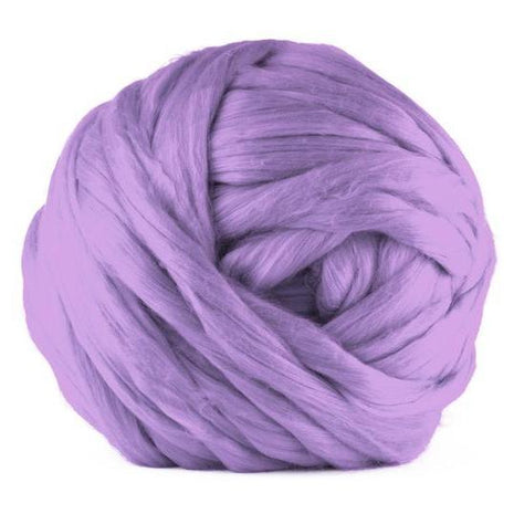 Paradise Fibers Acrylic Jumbo Yarn - Lavender - 7lb Special for Arm Knitted Blankets (VEGAN)