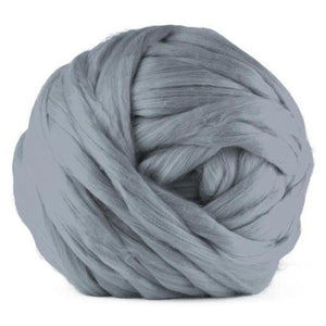 Paradise Fibers Acrylic Jumbo Yarn - Ash - 7lb Special for Arm Knitted Blankets (VEGAN)-Fiber-