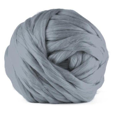 Paradise Fibers Acrylic Jumbo Yarn - Ash - 7lb Special for Arm Knitted Blankets (VEGAN)