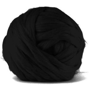 Paradise Fibers Acrylic Jumbo Yarn - Charcoal - 7lb Special for Arm Knitted Blankets (VEGAN)-Fiber-