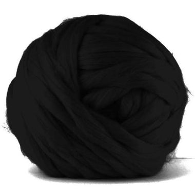 Paradise Fibers VEGAN Dyed Acrylic Roving - Charcoal