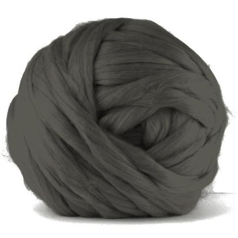 Paradise Fibers Acrylic Jumbo Yarn - Pewter - 7lb Special for Arm Knitted Blankets (VEGAN)