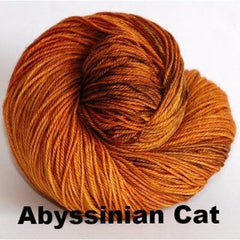 Paradise Fibers Yarn Ancient Arts DK Yarn - Meow Collection Abyssinian Cat - 3