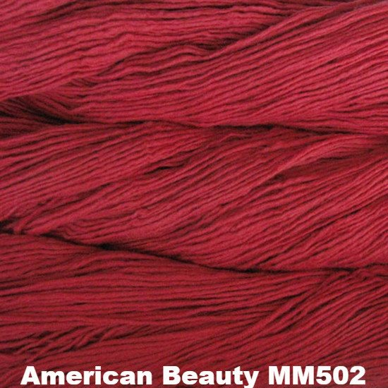Malabrigo Worsted Yarn Semi-Solids American Beauty MM502 - 22