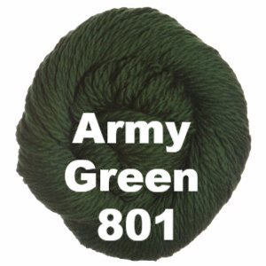 Cascade 128 Superwash Yarn Army Green 801 - 64