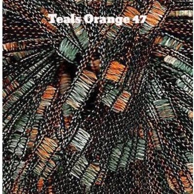 Euro Yarns Athena Yarn Teals Orange 47 - 10
