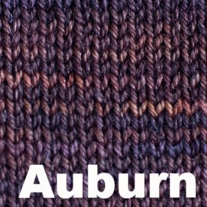 Paradise Fibers Yarn Sweet Georgia Tough Love Sock - Semi Solids Auburn - 3