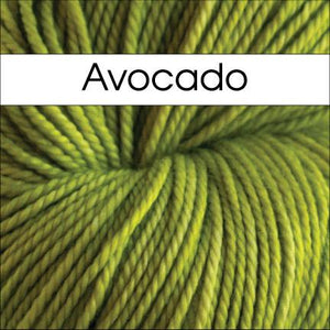 Anzula Luxury Nebula Yarn-Yarn-Avocado-