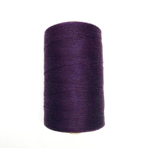 Bockens 8/2 Cotton Yarn - Deep Purple-Weaving Cones-