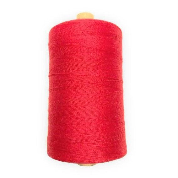 Bockens 8/2 Cotton Yarn - Bright Red-Weaving Cones-Paradise Fibers