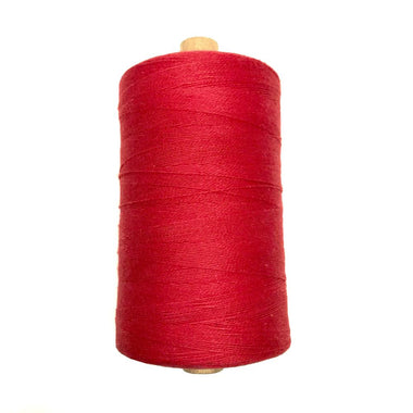 Bockens 8/2 Cotton Yarn - Red-Weaving Cones-Paradise Fibers