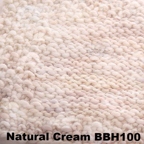 Misti Alpaca Baby Me Boo Hand Painted Yarn Natural Cream BBH100 - 25