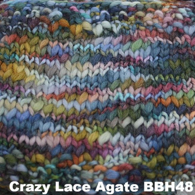 Misti Alpaca Baby Me Boo Hand Painted Yarn Crazy Lace Agate BBH48 - 6