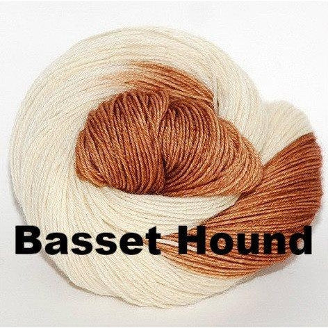 Paradise Fibers Yarn Ancient Arts DK Yarn - Woof Collection Basset Hound - 1