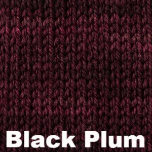 Paradise Fibers Yarn Sweet Georgia Tough Love Sock - Semi Solids Black Plum - 9