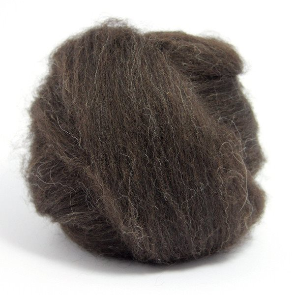 Paradise Fibers Finn Wool Tops (4 oz bag) Black - 4