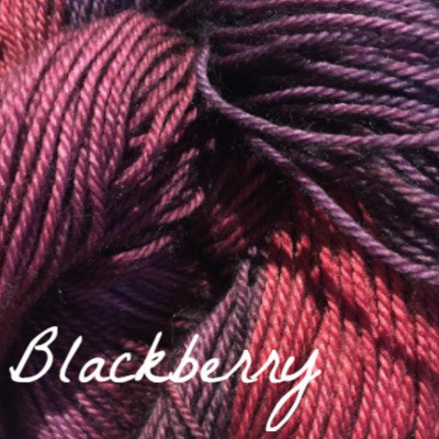 Hand Maiden Fine Yarn - Casbah Blackberry - 3