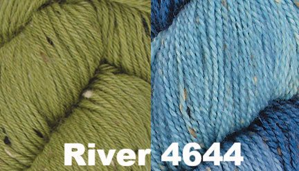 Block Party Eternity Scarf Kit River 4644 - 2