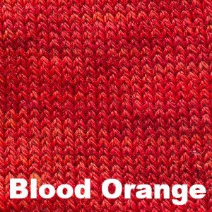 Sweet Georgia Tough Love Sock - Semi Solids-Yarn-Blood Orange-