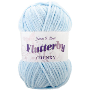 James C. Brett Flutterby Chunky Yarn-Yarn-Blue 03-