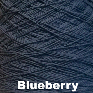Paradise Fibers Special 8/2 Cotton Yarn-Weaving Cones-Blueberry-