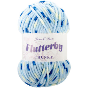 James C. Brett Flutterby Chunky Yarn-Yarn-Blueberry 06-