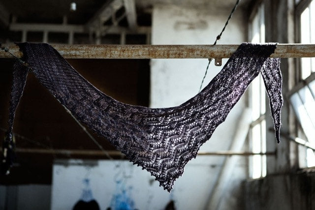 Broken Wings Shawl Pattern by Joji Knits  - 2