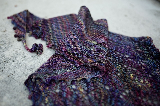Broken Wings Shawl Pattern by Joji Knits  - 3