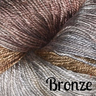 Hand Maiden Fine Yarns - Sea Silk Bronze - 2
