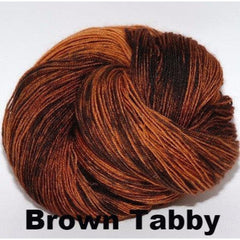 Paradise Fibers Yarn Ancient Arts DK Yarn - Meow Collection Brown Tabby - 4