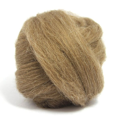 Paradise Fibers Finn Wool Tops (4 oz bag) Brown - 2
