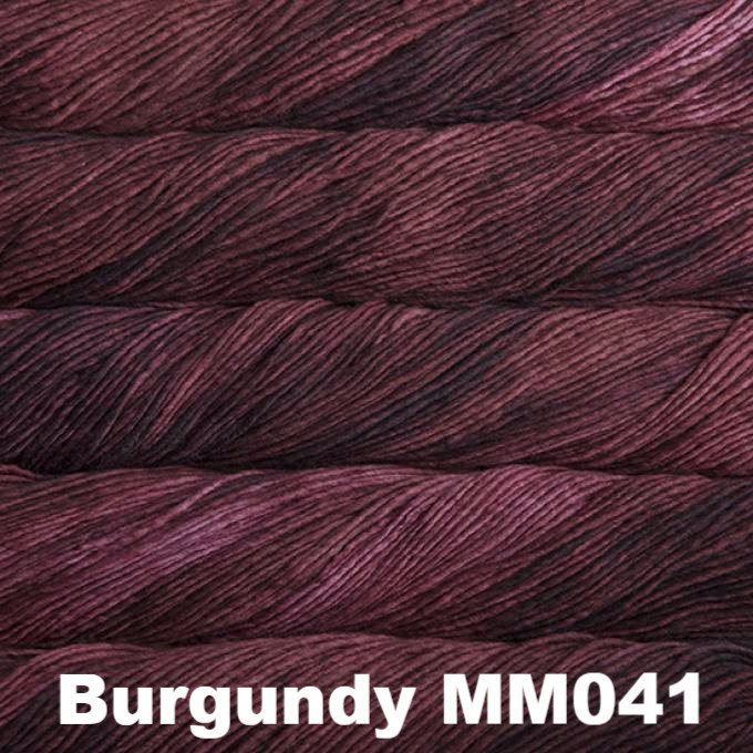 Malabrigo Worsted Yarn Semi-Solids Burgundy MM041 - 6