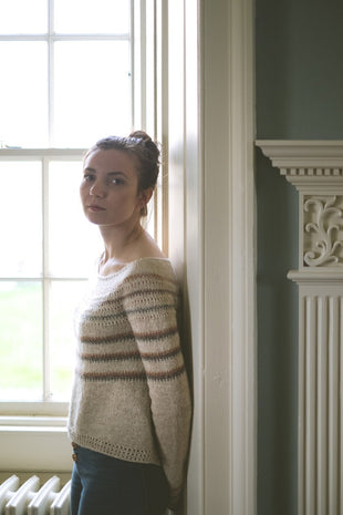 Burrafirth Sweater Pattern by The Shetland Trader  - 3