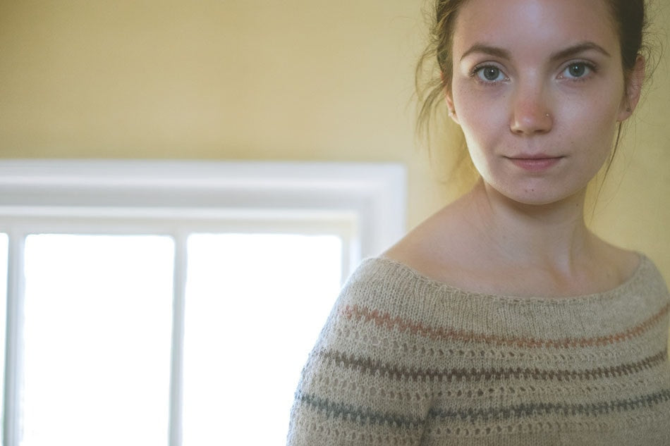 Burrafirth Sweater Pattern by The Shetland Trader  - 4