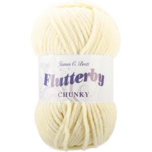 James C. Brett Flutterby Chunky Yarn-Yarn-Butter 09-