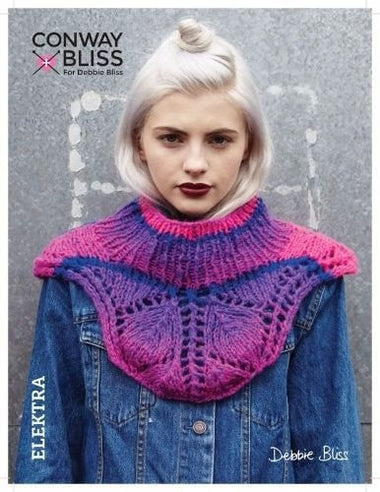 Conway + Bliss - Elektra Shoulder Cape Kit-Kits-Debbie Bliss-Hip Hop 03-Paradise Fibers