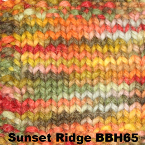 Misti Alpaca Baby Me Boo Hand Painted Yarn Sunset Ridge BBH65 - 17
