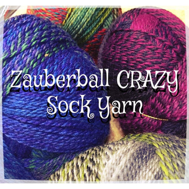 Paradise Fibers Yarn Schoppel-Wolle Zauberball CRAZY Sock Yarn  - 2