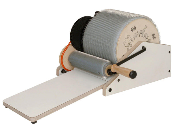 "Louet Electric Drum Carder - 12"" Extra Fine-Carders-Louet-Paradise Fibers"