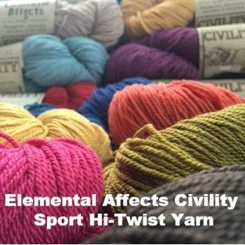 Elemental Affects Civility Sport Hi-Twist Yarn  - 1