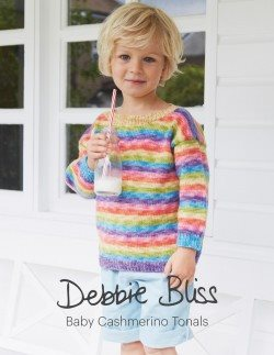 Debbie Bliss Cashmerino Tonals Pattern Book  - 1