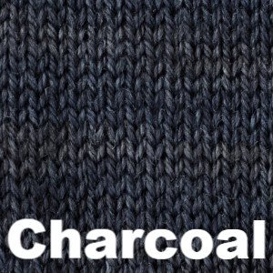 Paradise Fibers Yarn Sweet Georgia Tough Love Sock - Semi Solids Charcoal - 14