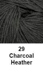 Cascade Longwood Yarn Charcoal Heather 29 - 5