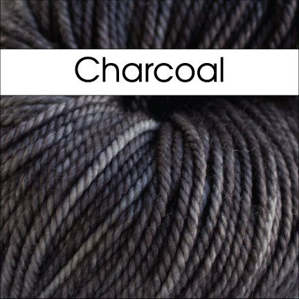 Paradise Fibers Yarn Anzula Luxury Cloud Yarn Charcoal - 9