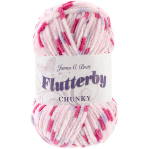 James C. Brett Flutterby Chunky Yarn-Yarn-Cherry 05-