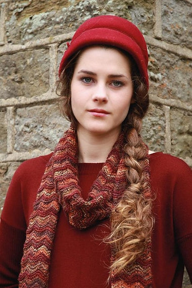 Rowan Garter Stitch Chevron Scarf Kit  - 1